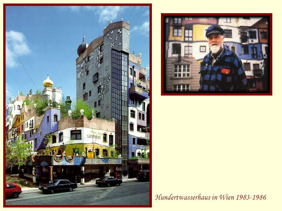 Hundertwasserhaus in Wien 1983-1986