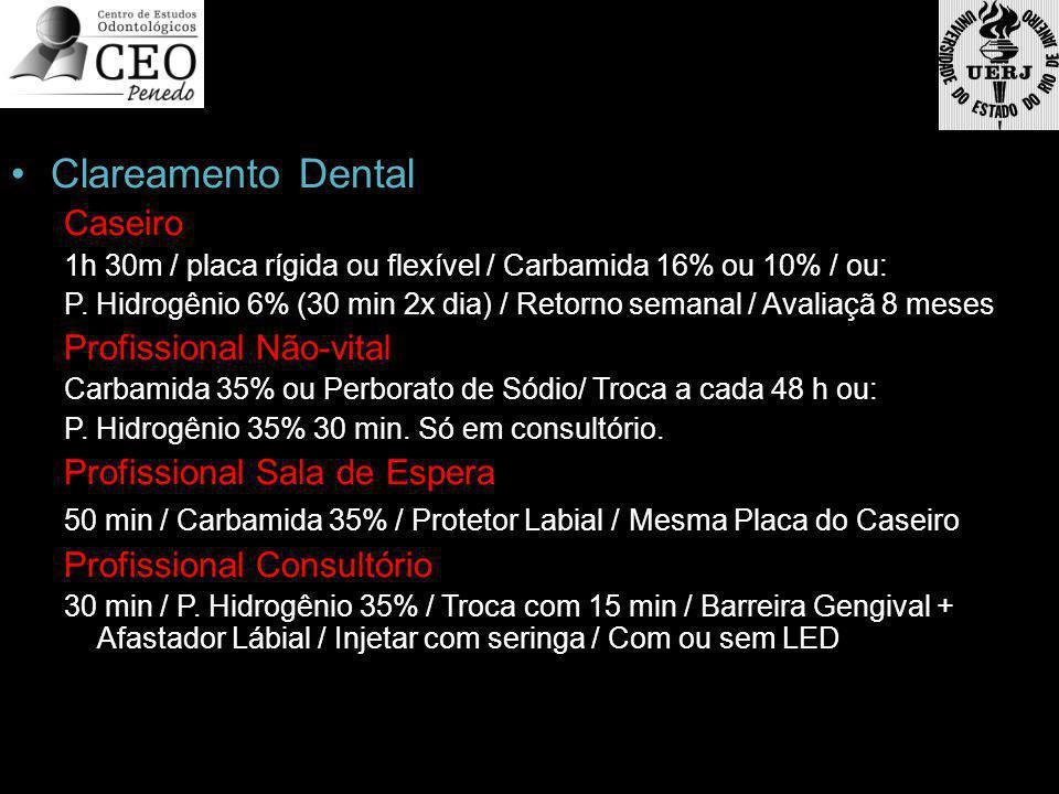 Clareamento Dental Caseiro Profissional Não-vital