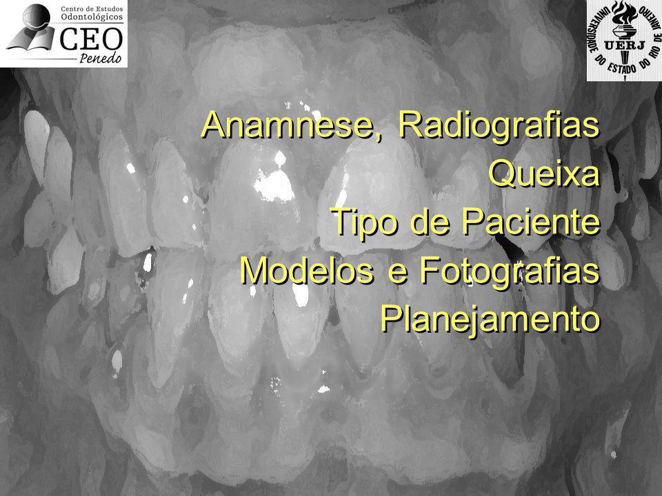 Anamnese, Radiografias