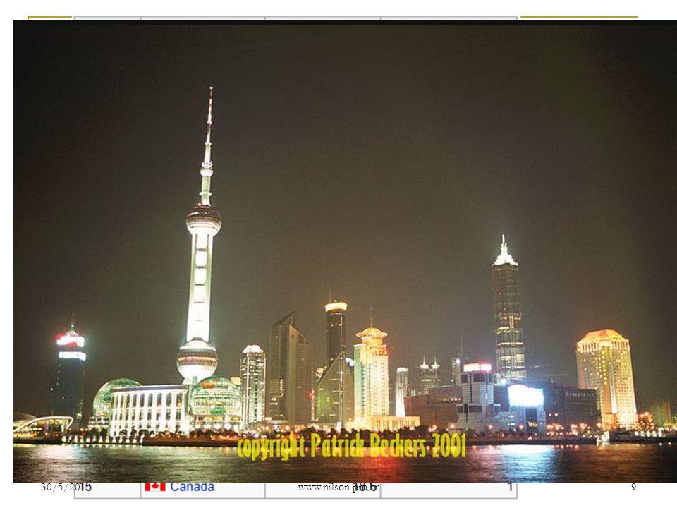 DADOS DA CHINA (2009/2010) Maior exportador mundial (2009) com US$ 1,07 trilhão no ano – Em 1997 era apenas a 16ª e em 2002 a 5ª;