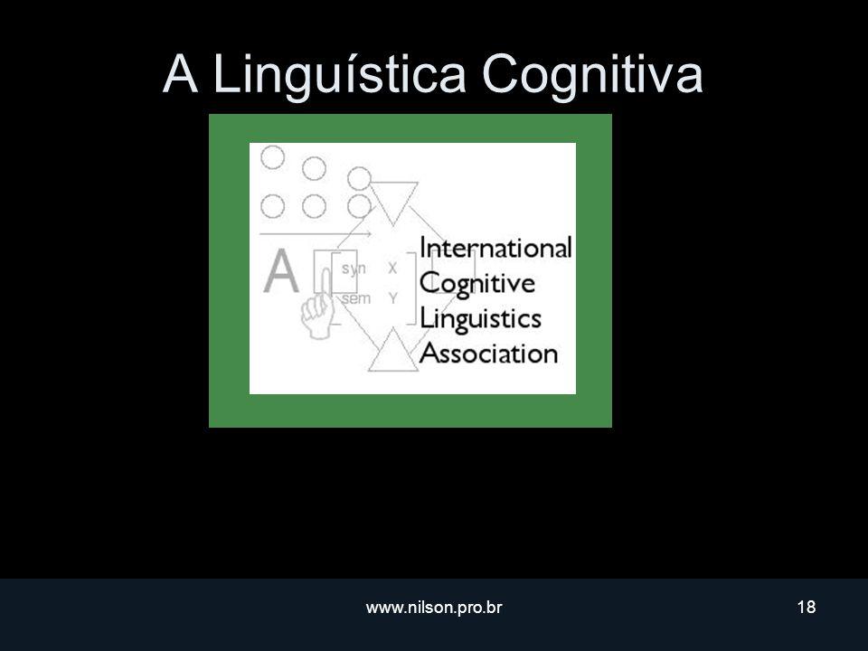 A Linguística Cognitiva