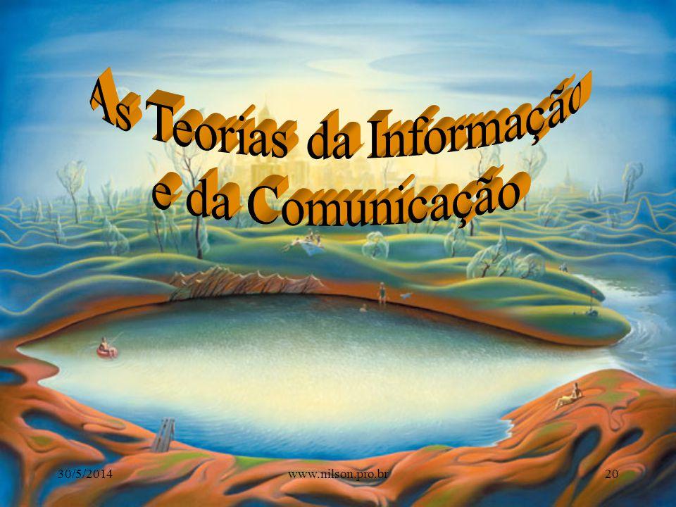 As Teorias da Informação