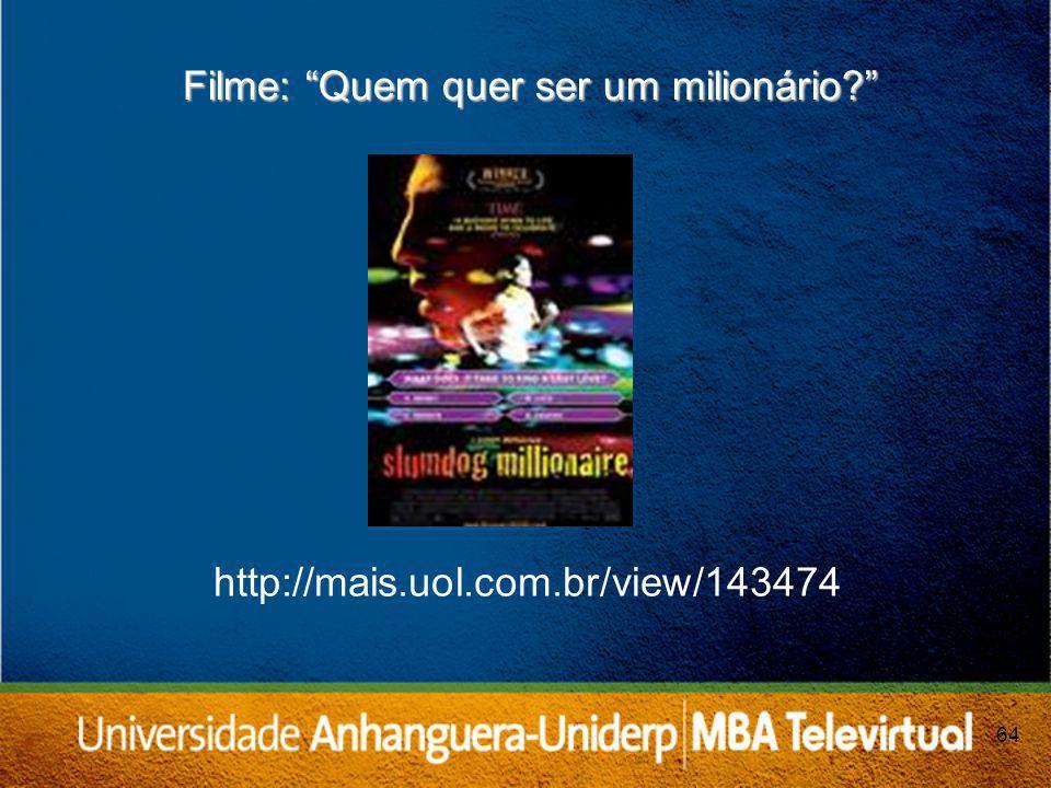 Filme: Quem quer ser um milionário