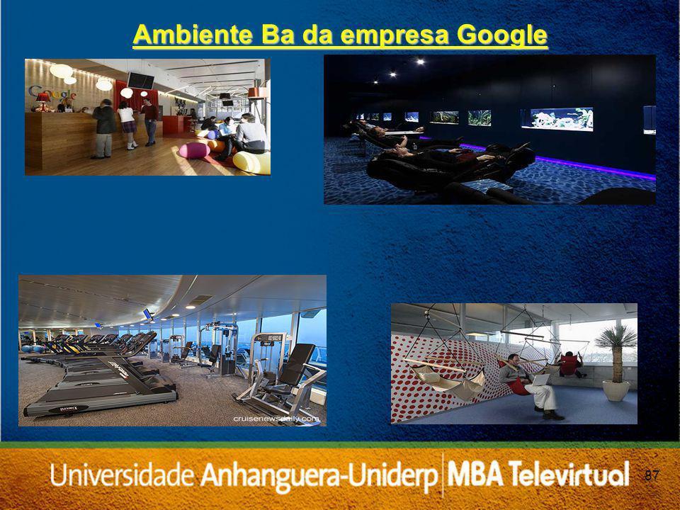 Ambiente Ba da empresa Google