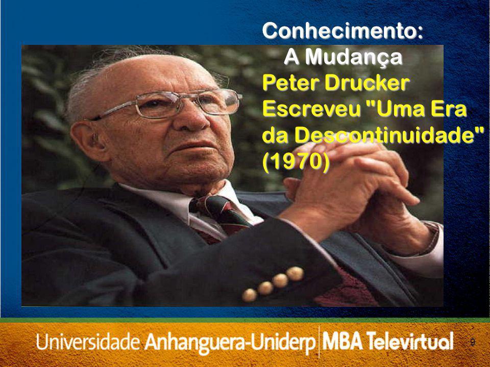 Conhecimento: A Mudança Peter Drucker