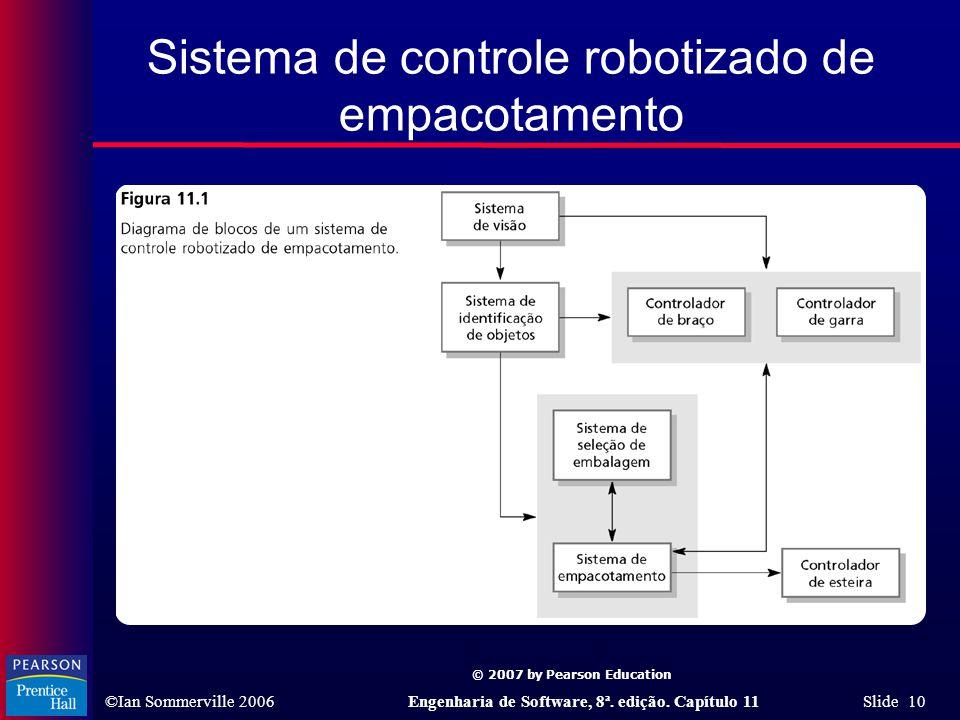 Sistema de controle robotizado de empacotamento