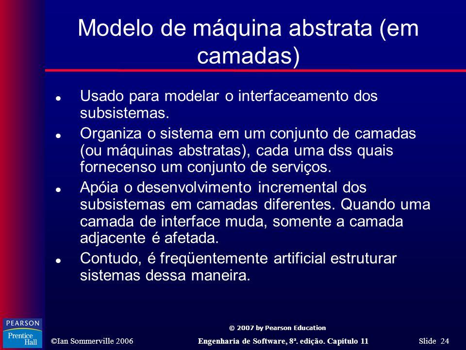 Modelo de máquina abstrata (em camadas)