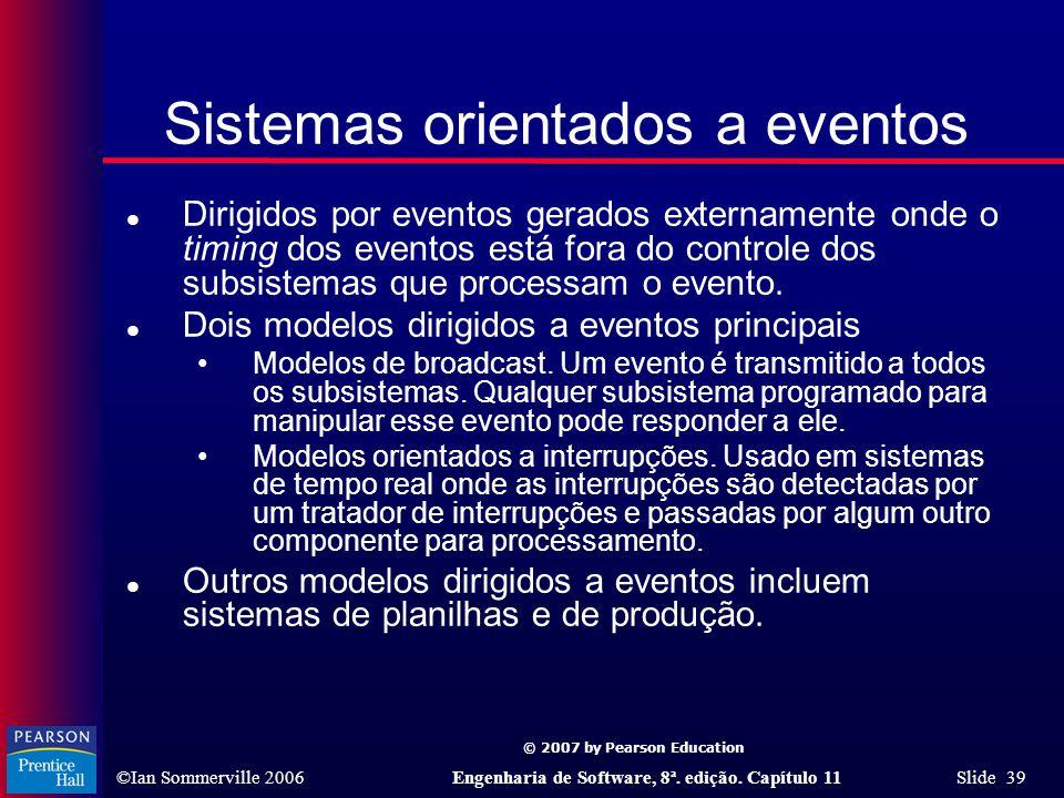 Sistemas orientados a eventos
