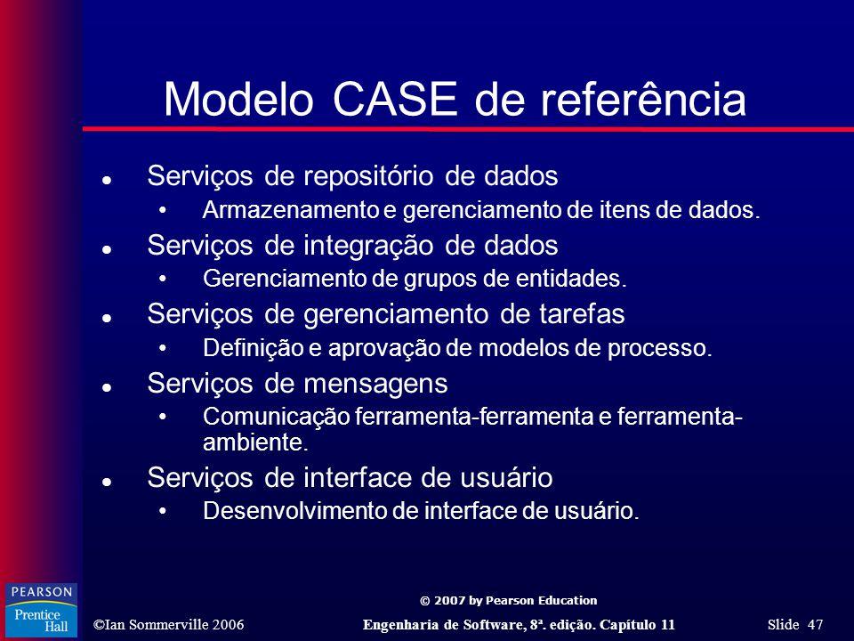 Modelo CASE de referência