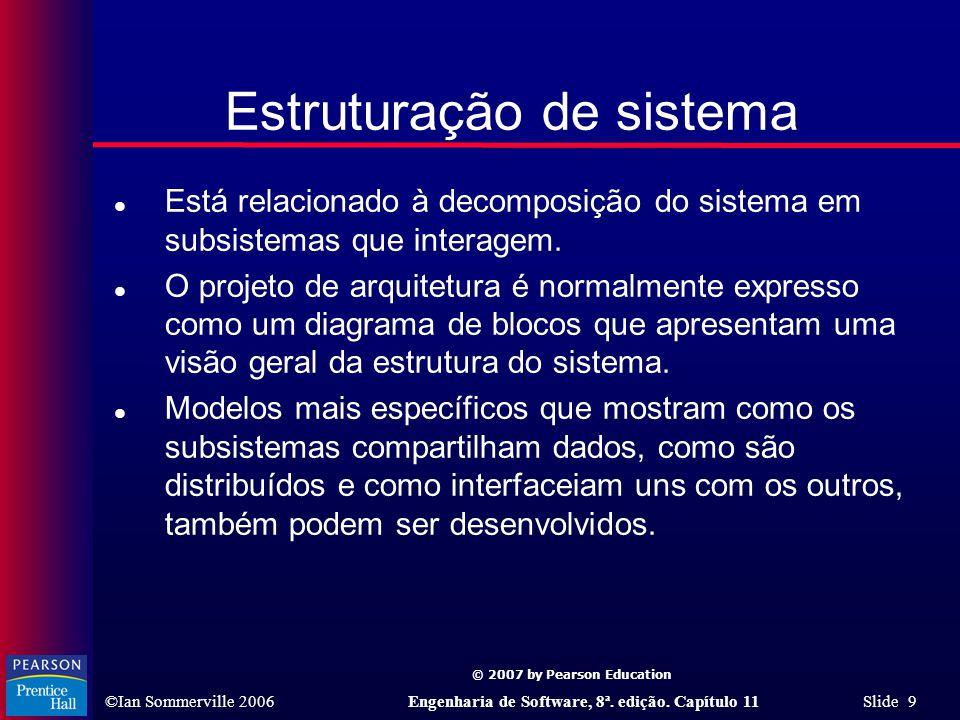 Estruturação de sistema