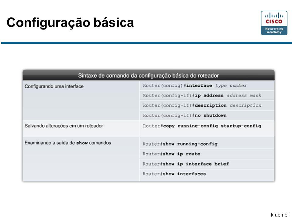 Configuração básica