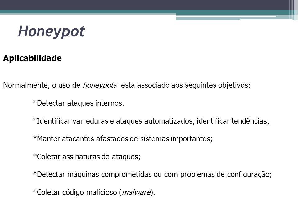 Honeypot Aplicabilidade