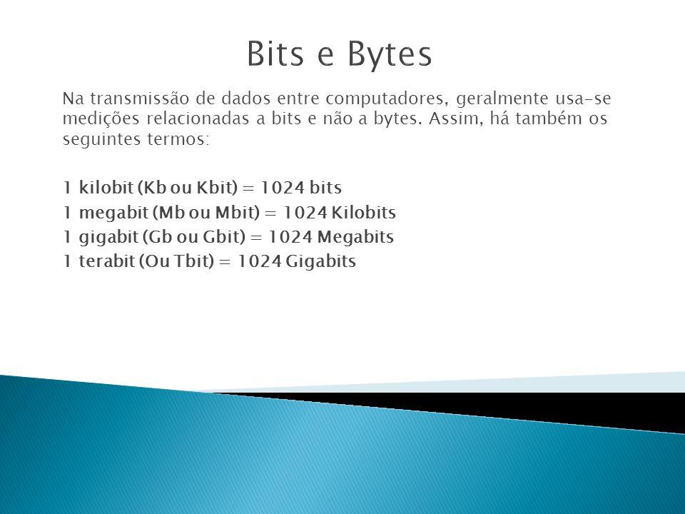 Bits e Bytes