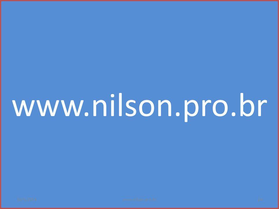 www.nilson.pro.br 31/03/2017 www.nilson.pro.br