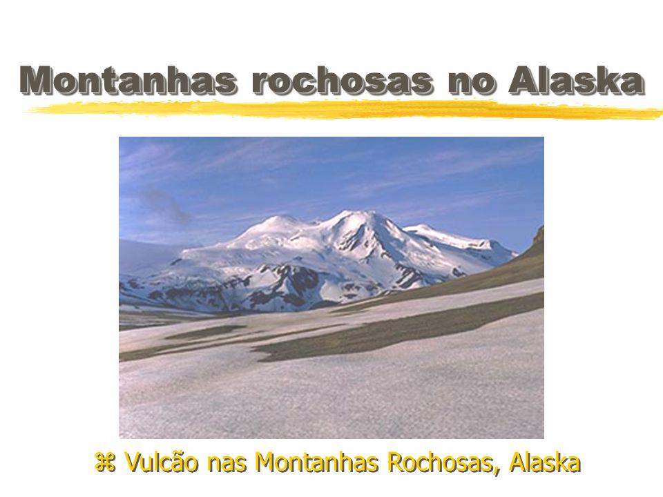 Montanhas rochosas no Alaska