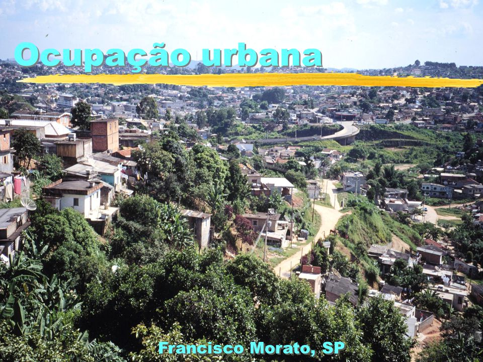 Ocupação urbana Francisco Morato, SP