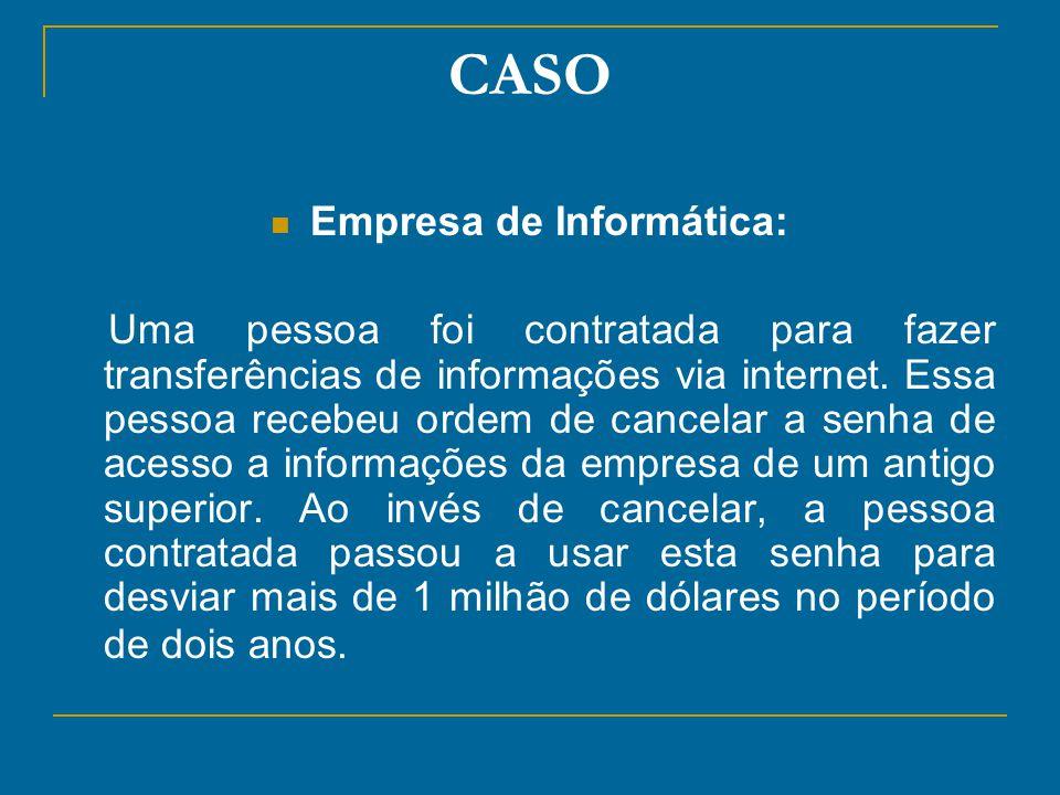 Empresa de Informática: