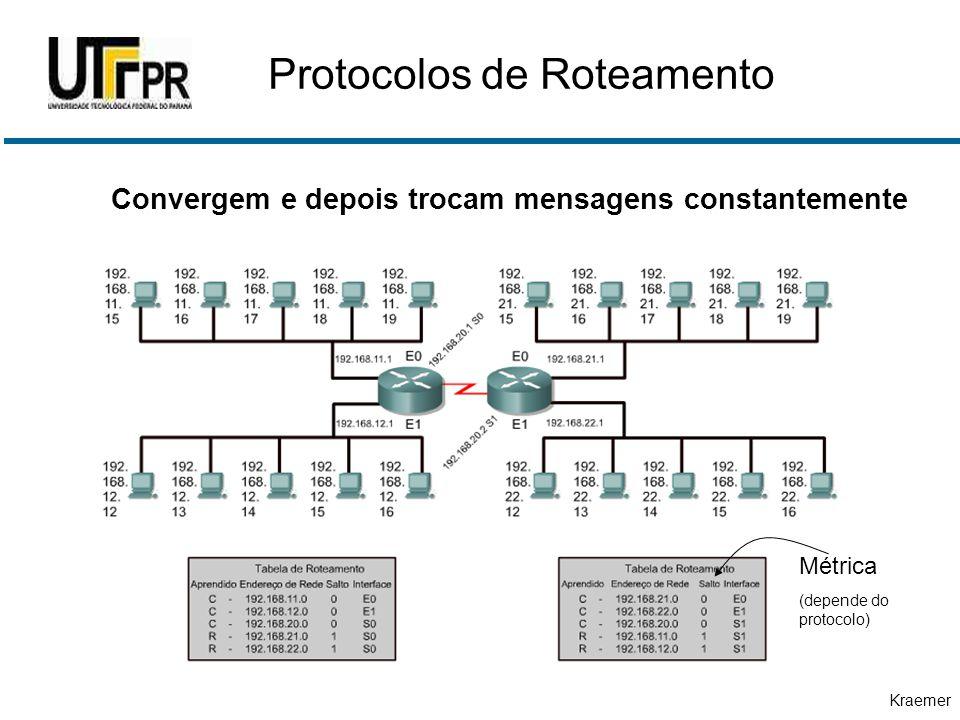 Protocolos de Roteamento