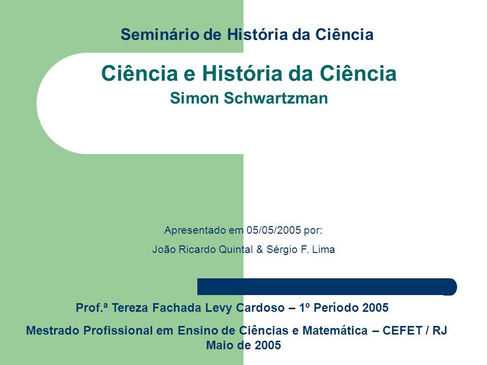 Seminário de História da Ciência