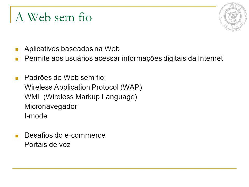 A Web sem fio Aplicativos baseados na Web