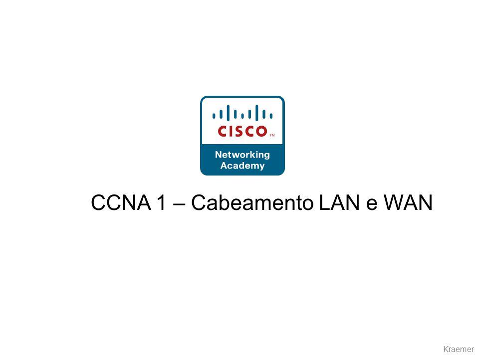 CCNA 1 – Cabeamento LAN e WAN