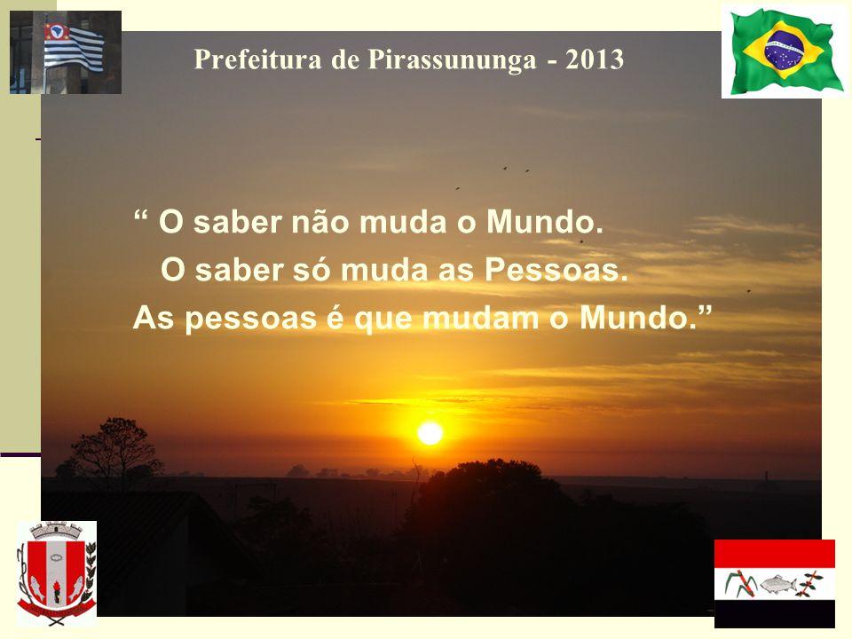 Prefeitura de Pirassununga - 2013