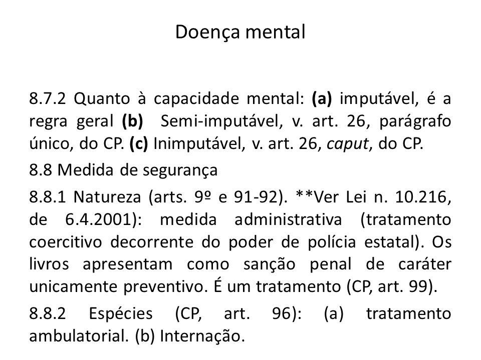 Doença mental