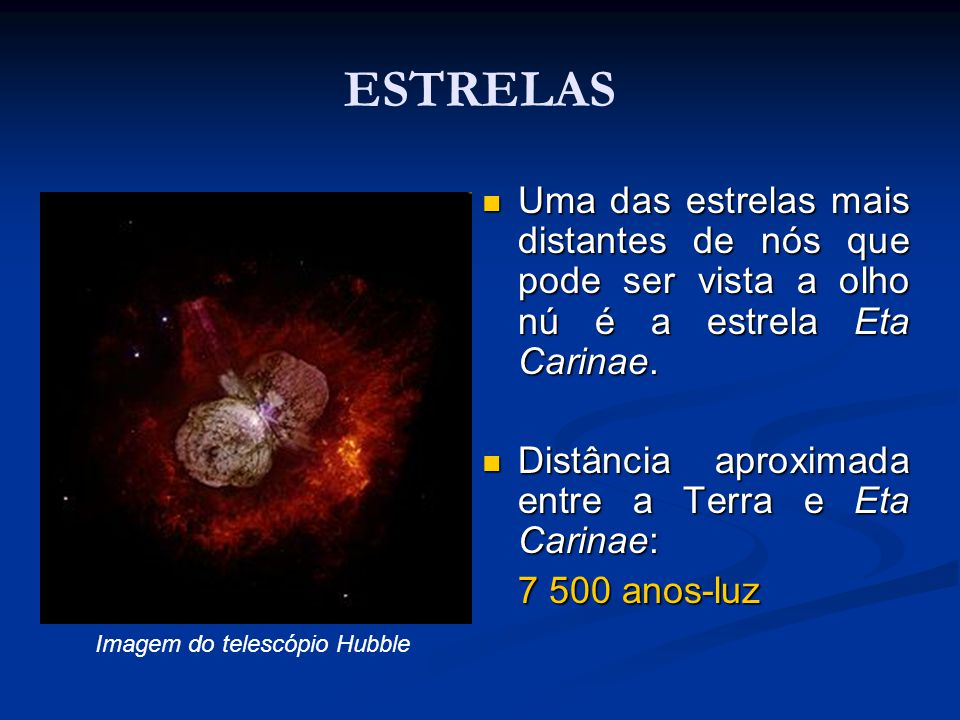 Imagem do telescópio Hubble