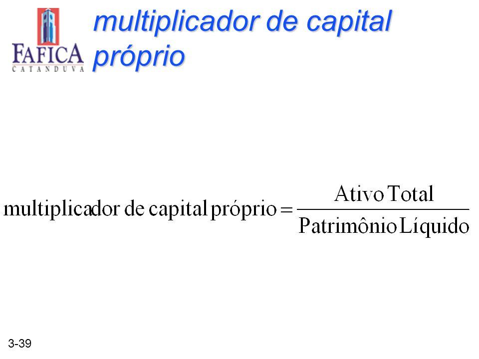multiplicador de capital próprio