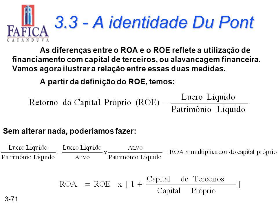 3.3 - A identidade Du Pont