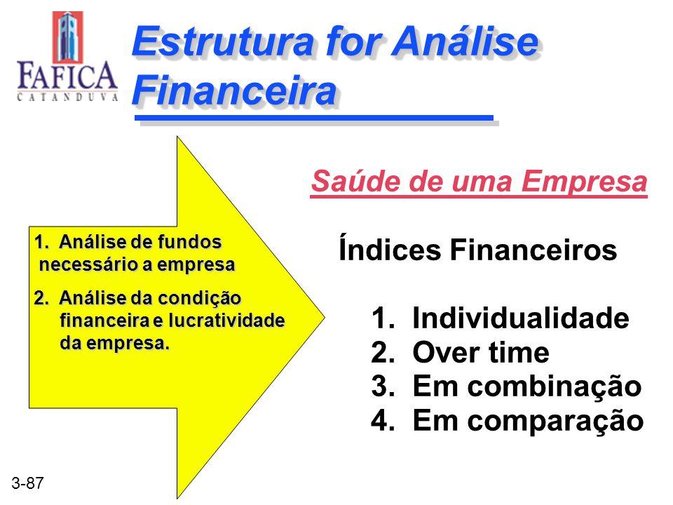 Estrutura for Análise Financeira