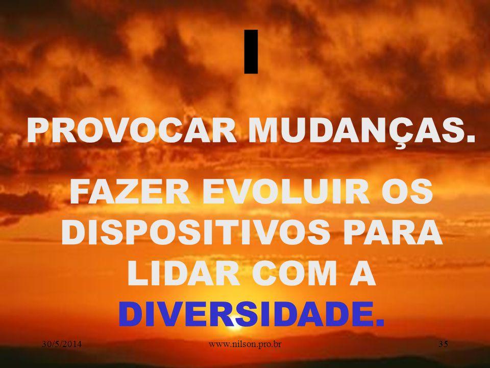 FAZER EVOLUIR OS DISPOSITIVOS PARA LIDAR COM A DIVERSIDADE.