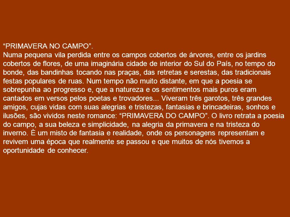 PRIMAVERA NO CAMPO .