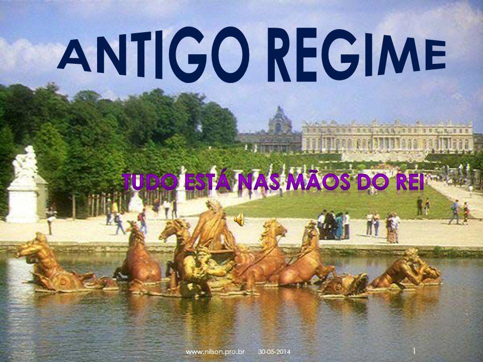 ANTIGO REGIME Tudo está nas mãos do Rei www.nilson.pro.br 31-03-2017