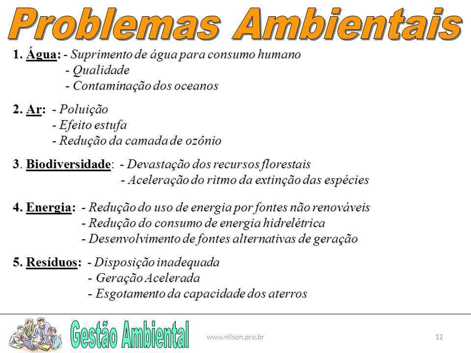 Problemas Ambientais Gestão Ambiental