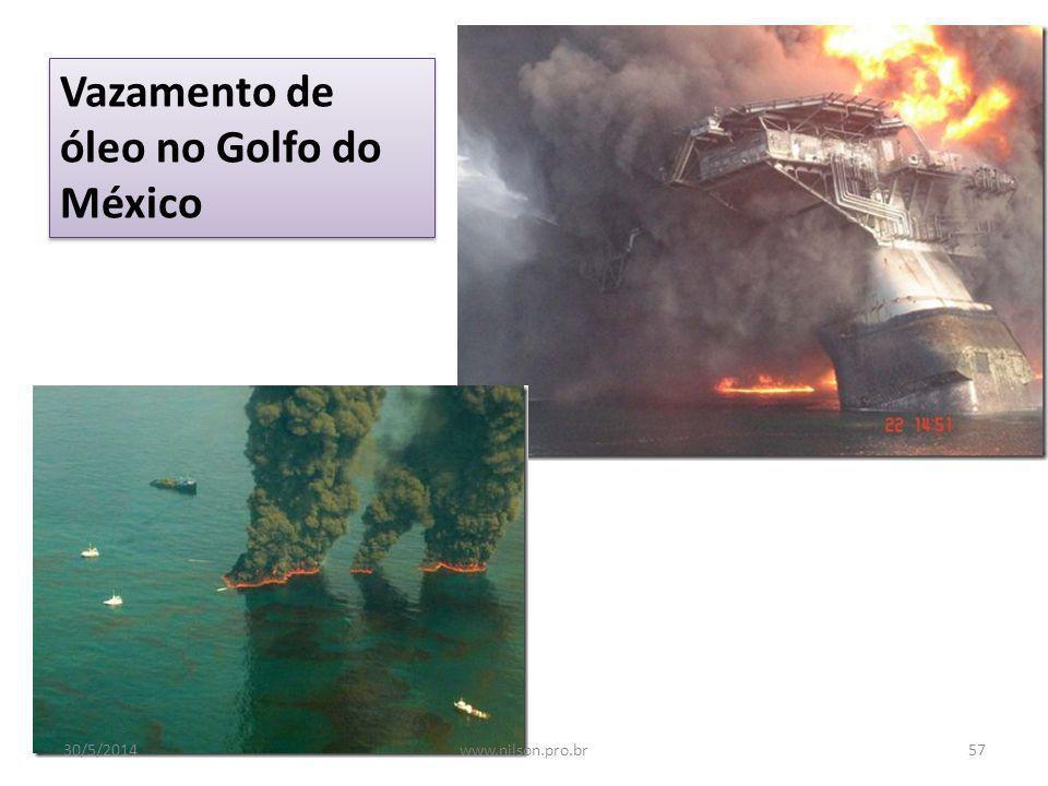 Vazamento de óleo no Golfo do México
