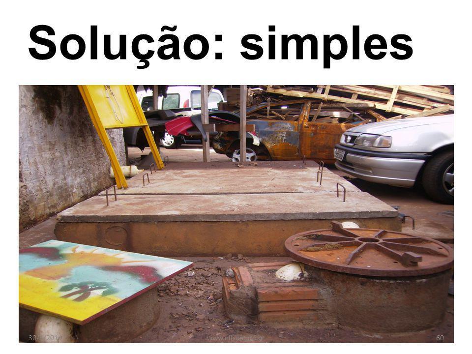 Solução: simples 31/03/2017 www.nilson.pro.br