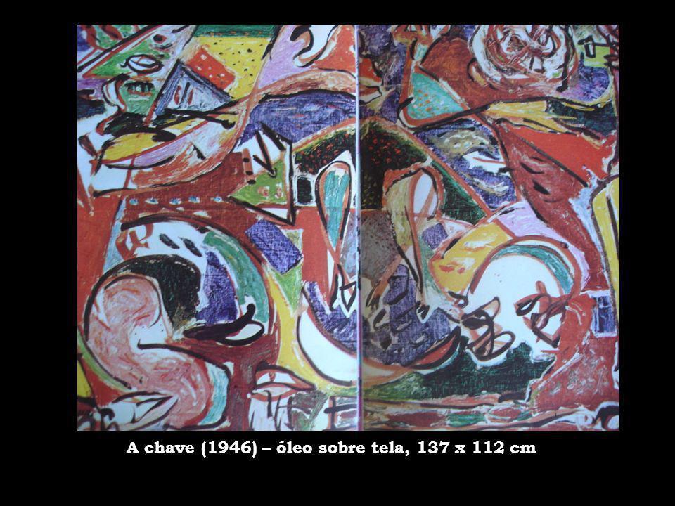 A chave (1946) – óleo sobre tela, 137 x 112 cm