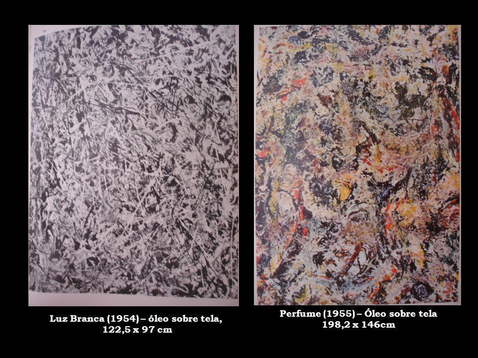 Luz Branca (1954) – óleo sobre tela, Perfume (1955) – Óleo sobre tela