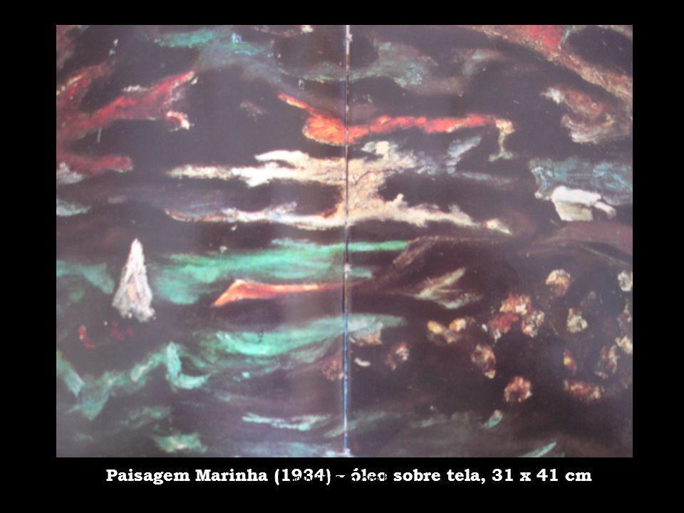 Paisagem Marinha (1934) – óleo sobre tela, 31 x 41 cm