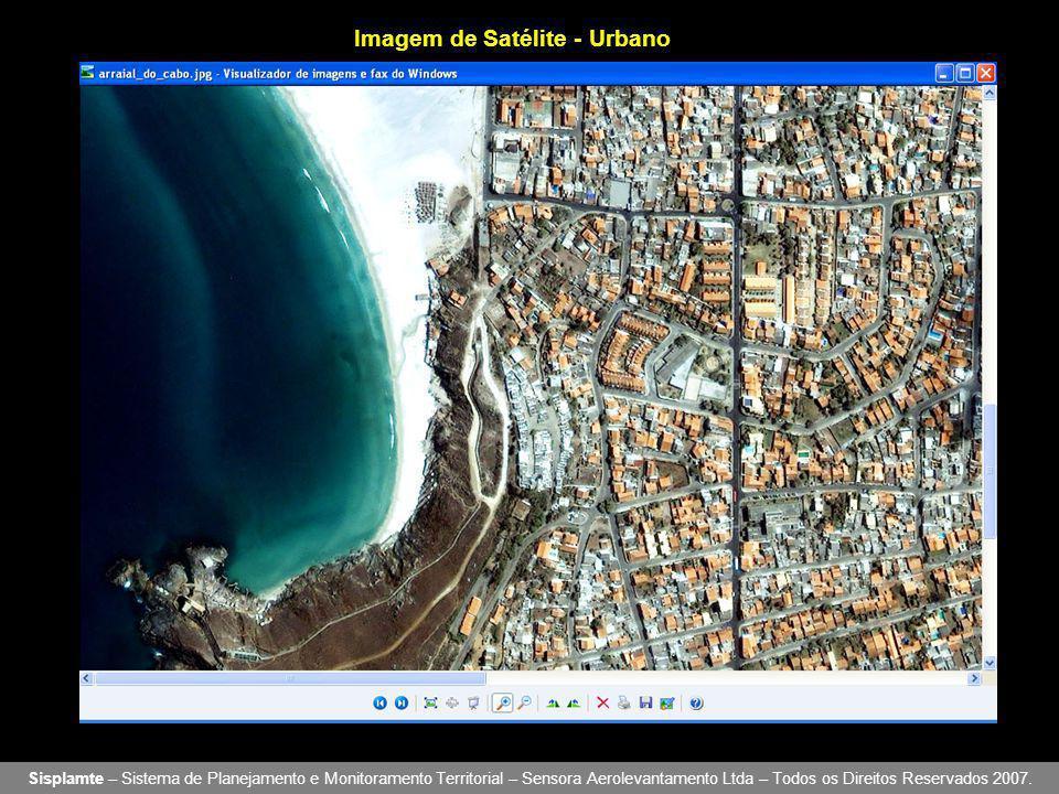 Imagem de Satélite - Urbano