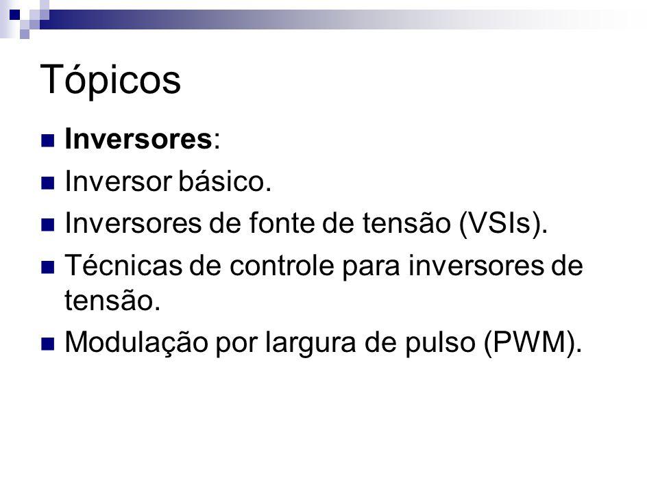 Tópicos Inversores: Inversor básico.