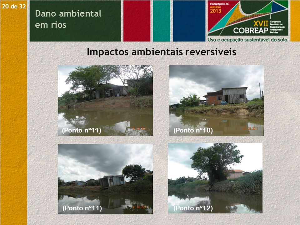 Impactos ambientais reversíveis