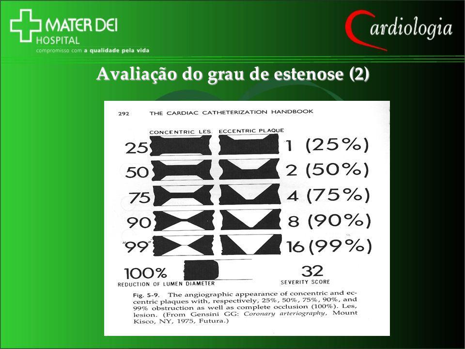 Avaliação do grau de estenose (2)