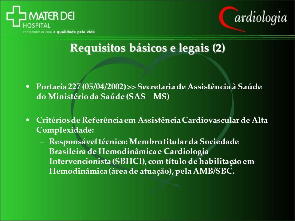 Requisitos básicos e legais (2)