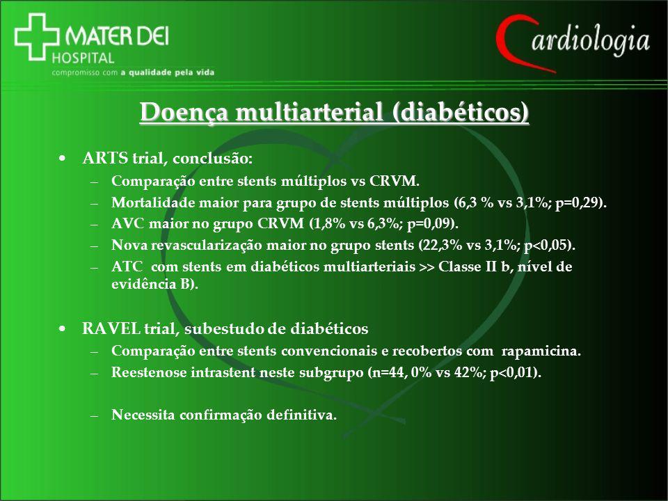 Doença multiarterial (diabéticos)