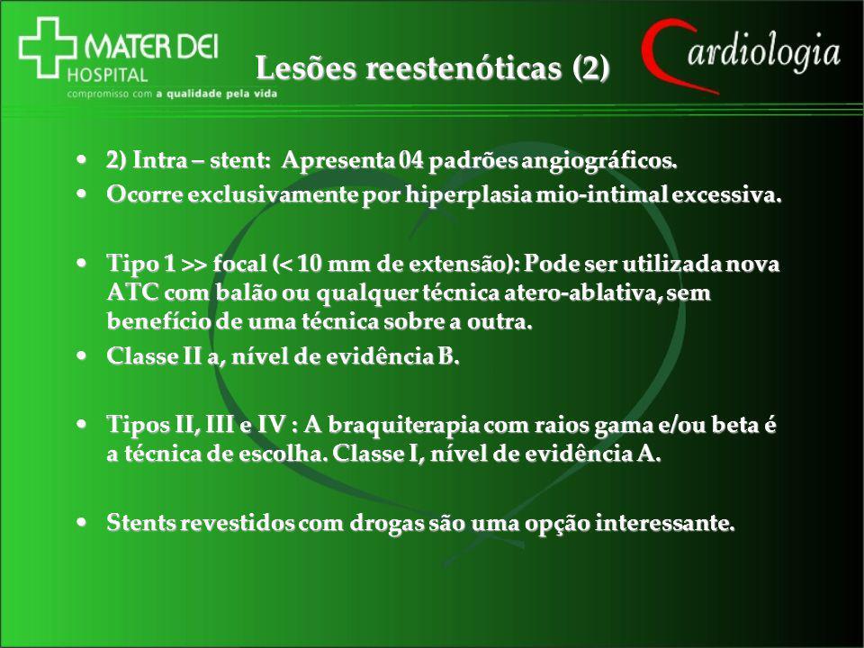 Lesões reestenóticas (2)