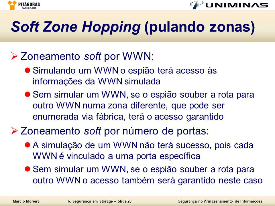 Soft Zone Hopping (pulando zonas)