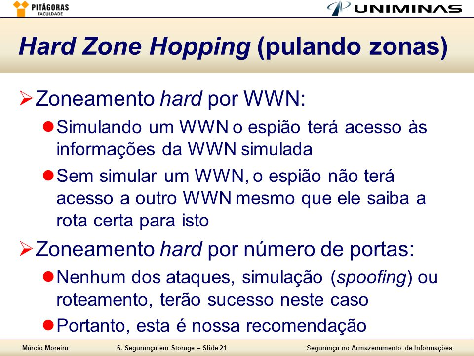 Hard Zone Hopping (pulando zonas)