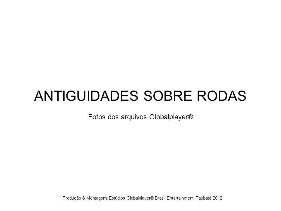 ANTIGUIDADES SOBRE RODAS